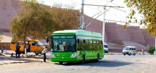 Троллейбус Ургенча