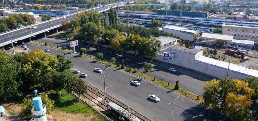 Ташкент. Вид сверху